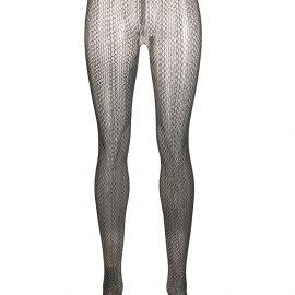 Prada fishnet tights - Blue