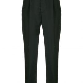 Prada high waist tapered trousers - Black