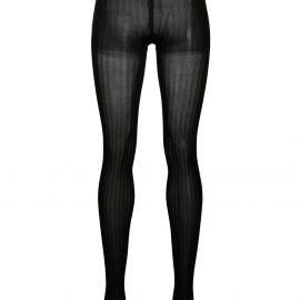 Prada ribbed tights - Black