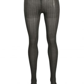 Prada ribbed tights - Grey