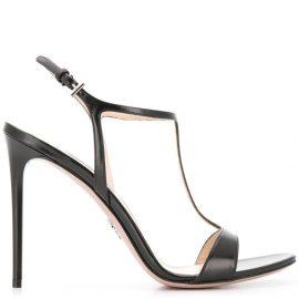 Prada stiletto sandals - Black