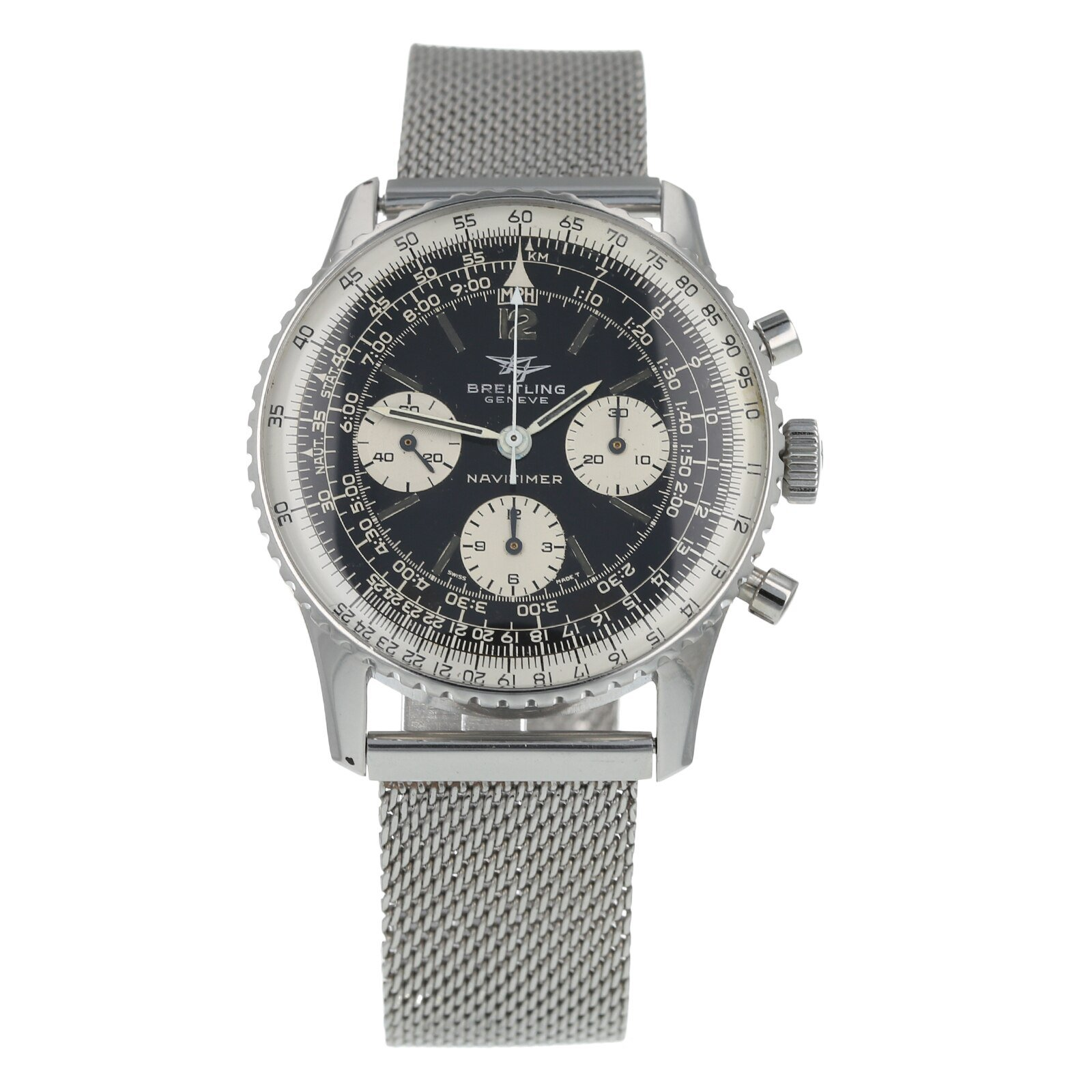 Pre-Owned Breitling Vintage Navitimer Mens Watch 809