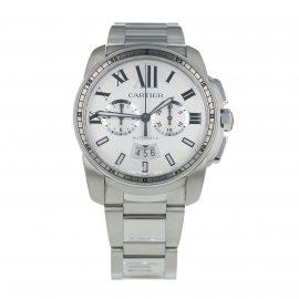 Pre-Owned Cartier Calibre de Cartier Mens Watch W7100045/ 3578