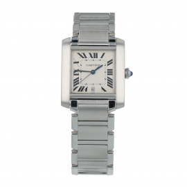 Pre-Owned Cartier Tank Francaise Mens Watch W51002Q3/2302