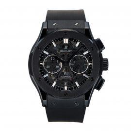 Pre-Owned Hublot Classic Fusion Aerofusion Black Magic Mens Watch 525.CM.0170.RX