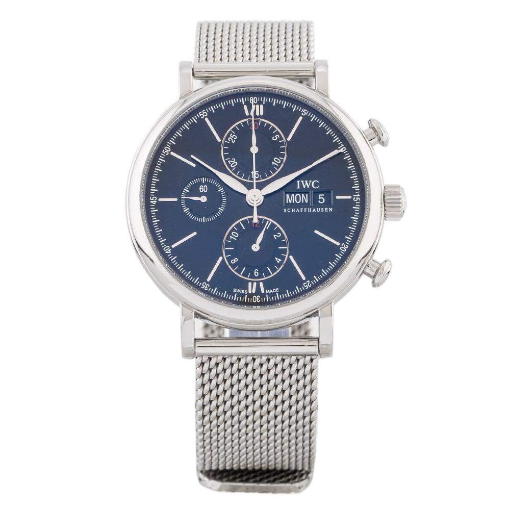 Pre-Owned IWC Mens Portofino Bracelet Watch 64(10/20)