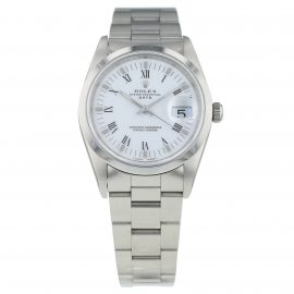 Pre-Owned Rolex Oyster Perpetual Date Mens Watch 15200