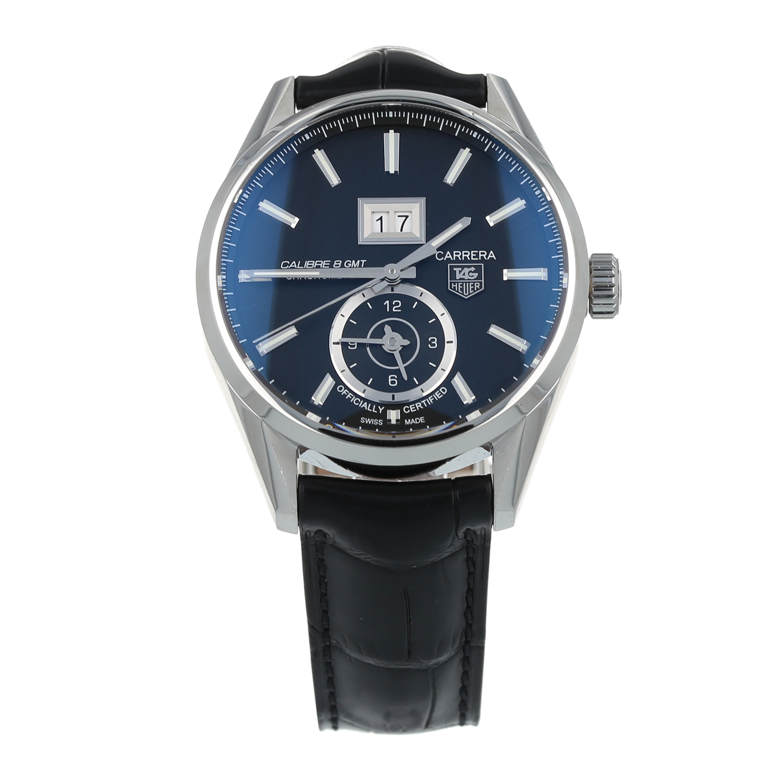 Pre-Owned TAG Heuer Carrera Calibre 8 GMT Mens Watch WAR5010-0
