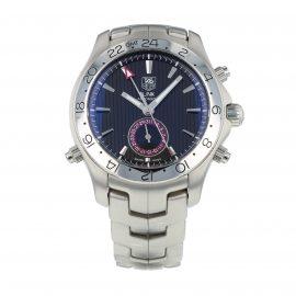Pre-Owned TAG Heuer Link GMT Mens Watch WJF2115.BA0587