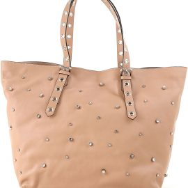 RED Valentino Tote Bag On Sale in Outlet, Nude, Leather, 2021