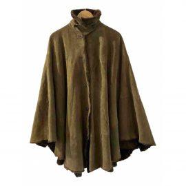 Ralph Lauren Collection Leather cape