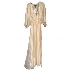 Ralph Lauren Collection N Beige Silk Dress for Women
