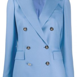 Ralph Lauren Collection double-breasted cashmere blazer - Blue