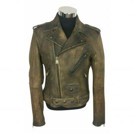 Ralph Lauren Purple Label N Brown Leather Jacket for Men