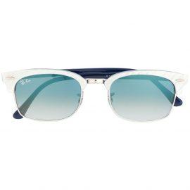 Ray-Ban D-frame sunglasses - Blue