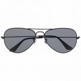 Ray-Ban aviator metal-frame sunglasses - Black