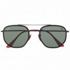 Ray-Ban aviator-shaped sunglasses - Black