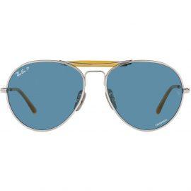 Ray-Ban aviator-style sunglasses - Silver