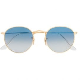 Ray-Ban round frame sunglasses - Gold