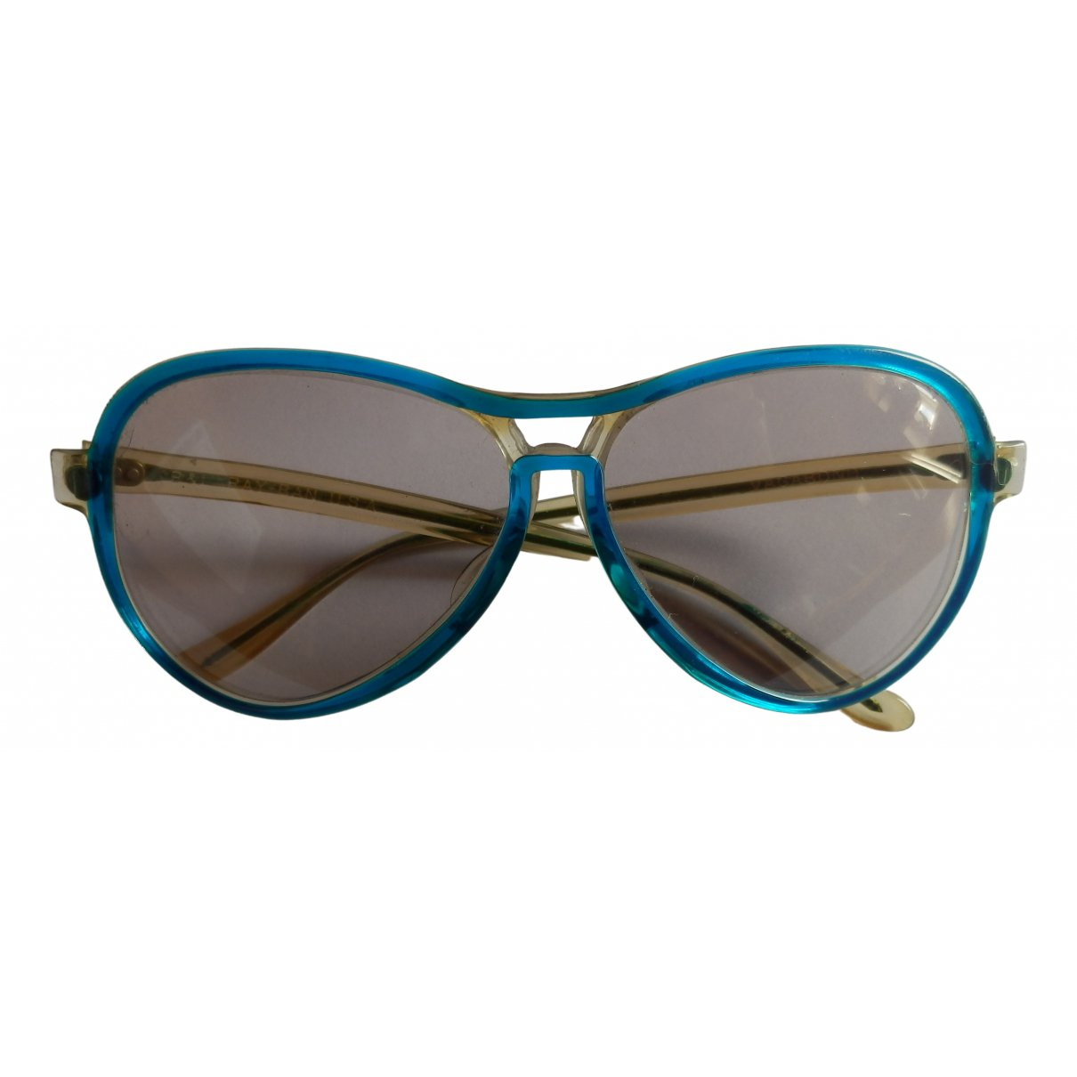 Ray-ban Aviator Blue Sunglasses for Women