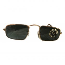 Ray-ban N Gold Metal Sunglasses for Men