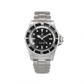 Rolex 1966 pre-owned Submariner 40mm - Black
