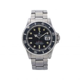 Rolex 1968 pre-owned Submariner 40mm - Black