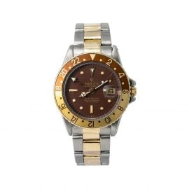 Rolex 1970s pre-owned GMT Master 40mm - Brown