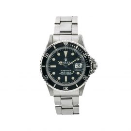 Rolex 1970s pre-owned Submariner 40mm - Black