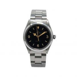 Rolex 1973 pre-owned Oyster Perpetual 34mm - Black
