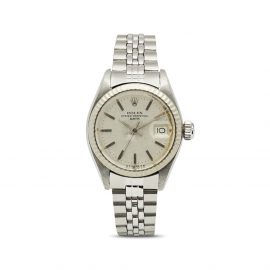 Rolex 1974 pre-owned Oyster Perpetual Date - Silver