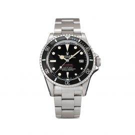 Rolex 1976 pre-owned Sea-Dweller Double Red 40mm - Black