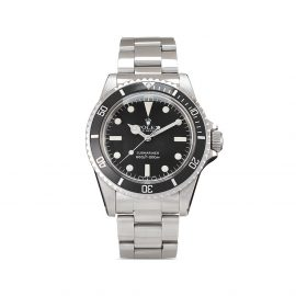 Rolex 1982 pre-owned Submariner No Date 40mm - Black