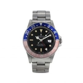 Rolex 1986 pre-owned GMT-Master 40mm - Black