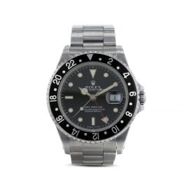 Rolex 1988 pre-owned GMT-Master 40mm - Black