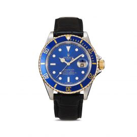 Rolex 1990 pre-owned Submariner Date 40mm - Blue