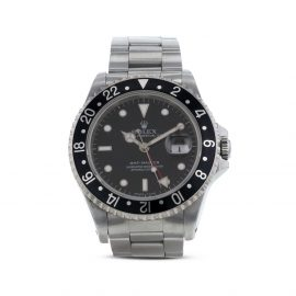Rolex 1996 pre-owned GMT-Master 40mm - Black