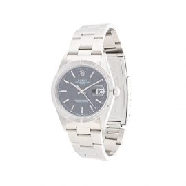Rolex 1997 pre-owned Oyster Perpetual Date 32mm - Silver