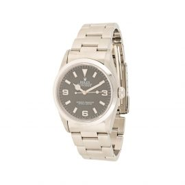 Rolex 1997 pre-owned Oyster Perpetual Explorer 35mm - Silver