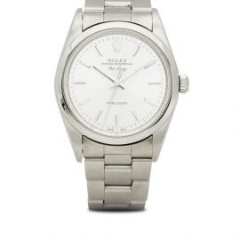 Rolex 1998 pre-owned Air-King 34mm - Silver