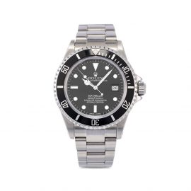 Rolex 2002 pre-owned Sea-Dweller 40mm - Black