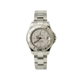 Rolex 2005 pre-owned Yacht-Master 35mm - Silver