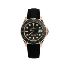 Rolex 2016 pre-owned Yacht-Master 37mm - Black