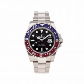 Rolex 2017 pre-owned GMT-Master II 'Pepsi' 40mm - Black