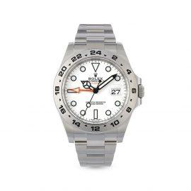 Rolex 2021 unworn Explorer II 42mm - White