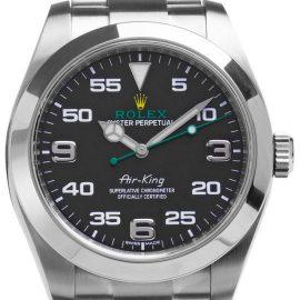 Rolex Air-King 116900, Arabic Numerals, 2020, Good, Case material Steel, Bracelet material: Steel