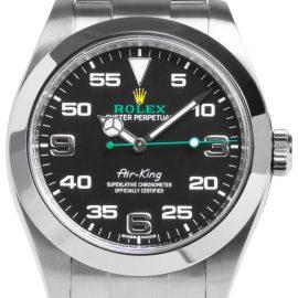Rolex Air-King 116900, Arabic Numerals, 2020, Very Good, Case material Steel, Bracelet material: Steel