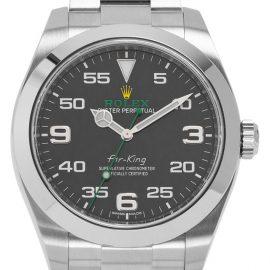 Rolex Air-King 116900, Arabic Numerals, 2021, Very Good, Case material Steel, Bracelet material: Steel