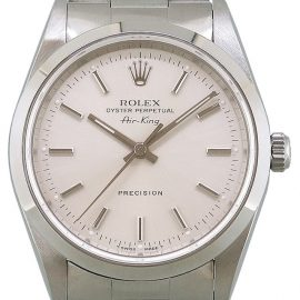 Rolex Air-King 14000, Baton, 1996, Very Good, Case material Steel, Bracelet material: Steel