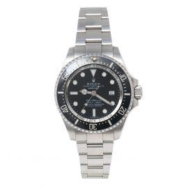 Rolex Black Stainless Steel DeepSea Sea-Dweller 116660 Men's Wristwatch 44 mm